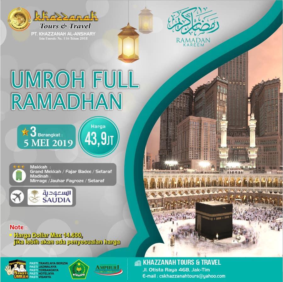 Umroh Full Ramadhan 2020