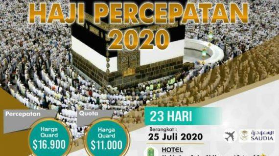 Visa Resmi Tanpa Antri Paket Haji ONH Plus 2020