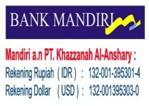 Khazzanah Tour Rekening