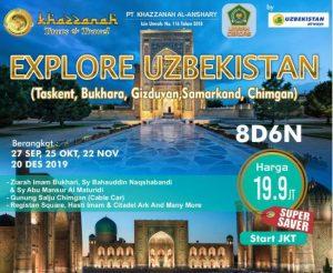 paket tour uzbekistan 2019