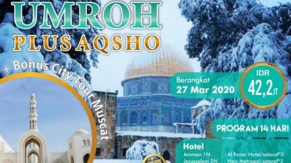 Paket Umroh Plus Aqsa 2020 Ibadah dan Empati