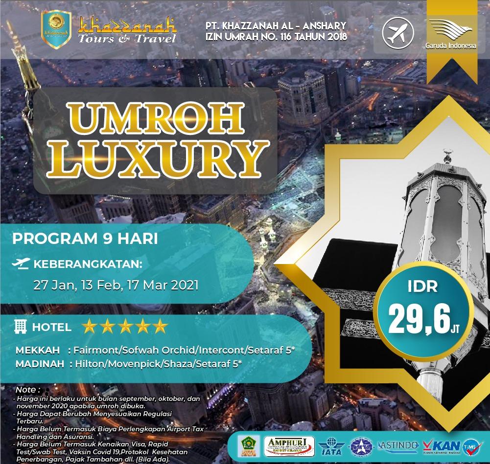Paket Umroh Januari 2021 Luxury