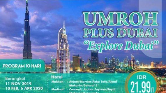 Paket Umroh Plus Dubai 2020 Sensasi Terindah