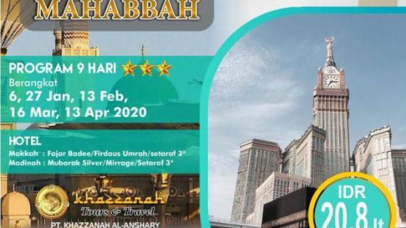 Paket Umroh Promo 2020 Murah Mulai 21 Jutaan