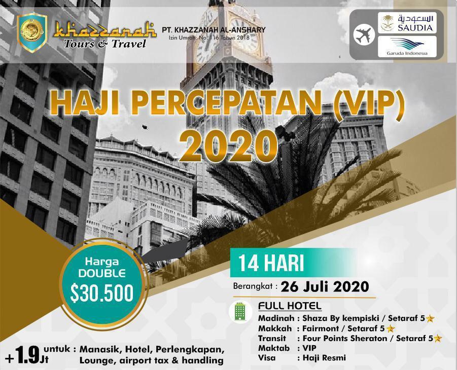 Paket Haji Furoda 2020