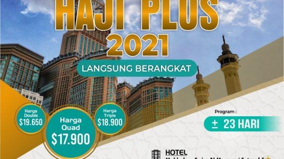 Visa Resmi Tanpa Antri Paket Haji ONH Plus 2021 Furoda