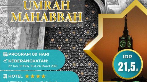 Paket Umroh Promo 2021 Murah Mulai 21 Jutaan